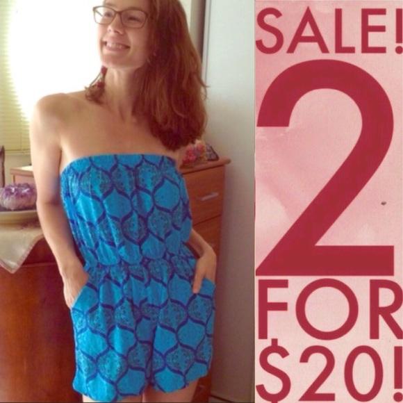 Urban Outfitters Dresses & Skirts - Paisley Rayon Romper Yogi Mandala